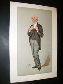 Vanity Fair Print 1901 Vice Provost Warre-Cornish of Eton